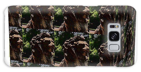 Online Shopping Cart Galaxy Case - Lion In The Park by Karen Francis