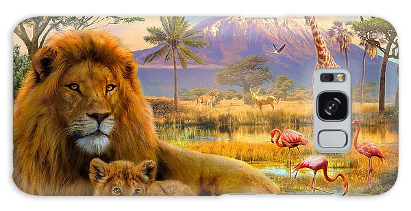 Majestic Galaxy Case - Lion by MGL Meiklejohn Graphics Licensing