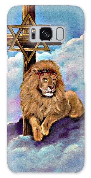 Lion Of Judah At The Cross Galaxy Case