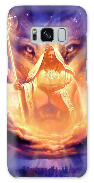 Lion Galaxy Case - Lion Of Judah by Jeff Haynie