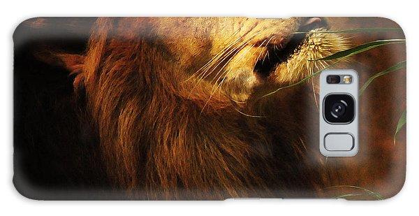 The Lion Of Judah Galaxy Case by Olivia Hardwicke