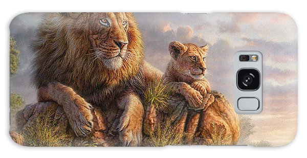 Foliage Galaxy Case - Lion Pride by Phil Jaeger