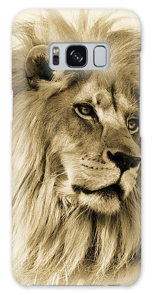 Lion Galaxy Case by Swank Photography
