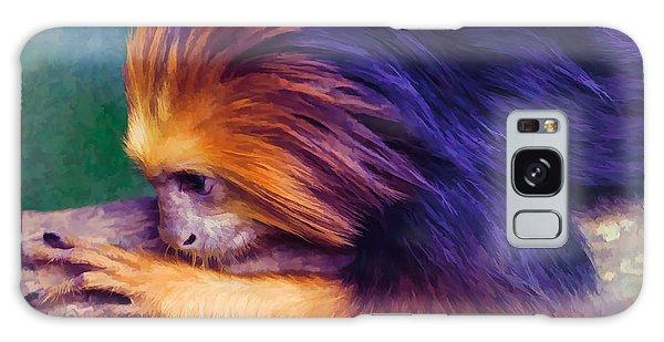 Lion Tamarin Galaxy Case