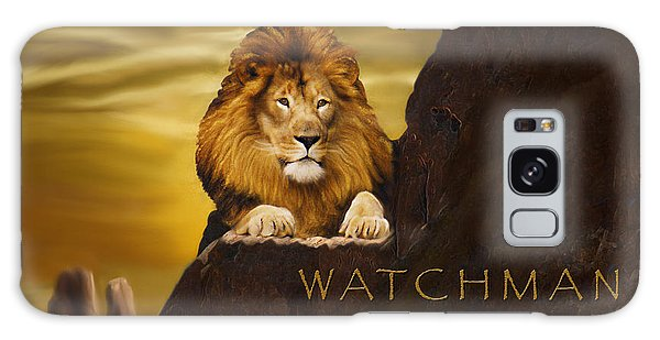 Majestic Galaxy Case - Lion Watchman by Constance Woods