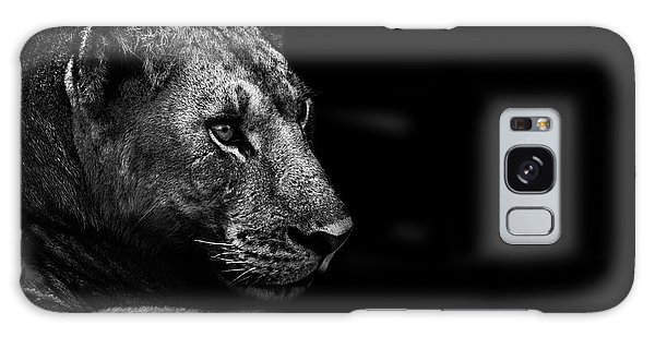 Lion Galaxy Case - Lion by Wildphotoart