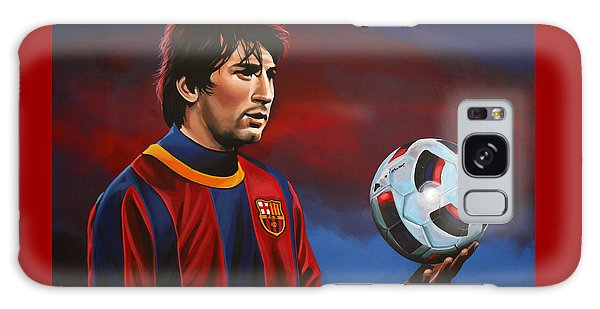 Soccer Galaxy S8 Case - Lionel Messi 2 by Paul Meijering