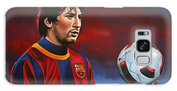 People Galaxy Case - Lionel Messi 2 by Paul Meijering
