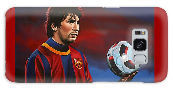 Sportsman Galaxy Case - Lionel Messi 2 by Paul Meijering