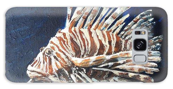 Lionking Galaxy Case by Vonda Lawson-Rosa
