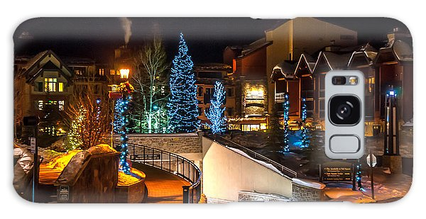 Lions Head Village Vail Colorado Galaxy Case