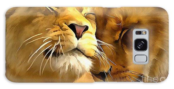 Lions In Love Galaxy Case