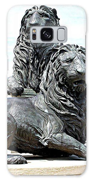 Lions Of Marco Island Galaxy Case
