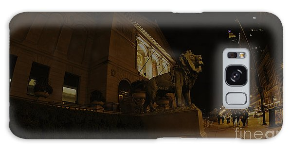 Art Institute Galaxy Case - Lions Of The Institute by David Bearden