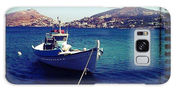 Lipsi - Greek Islands Galaxy Case by Therese Alcorn