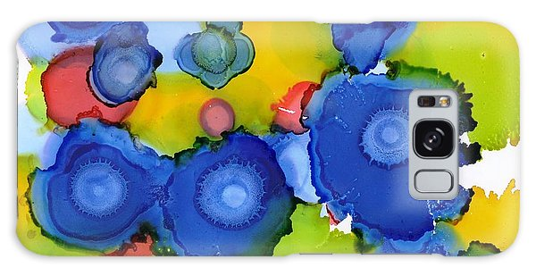 Liquid Blue Bonnets Galaxy Case