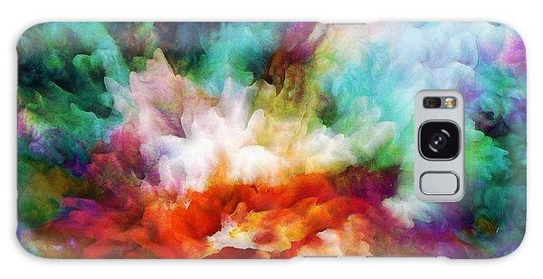 Iridescent Galaxy Case - Liquid Colors - Original by Lilia D