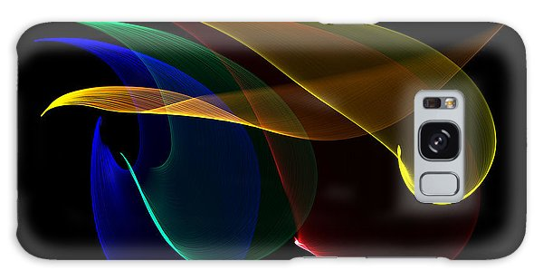 Liquid Colors Galaxy Case by Pete Trenholm