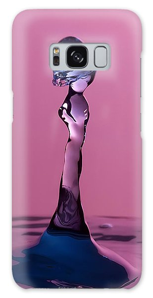 Galaxy Case featuring the photograph Liquid Lady by Vickie Szumigala