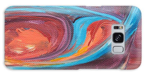 Liquid Sway Galaxy Case by Trina Teele