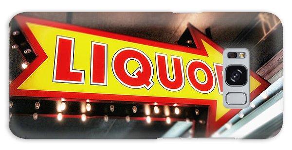 Liquor Store Sign Galaxy Case