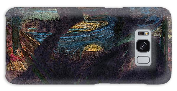 Lisa Munch Scream  Galaxy Case