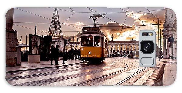 Lisbon Light Galaxy Case