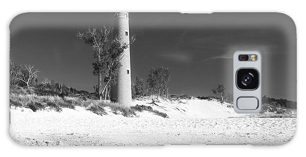 Litle Sable Light Station - Film Scan Galaxy Case by Larry Carr