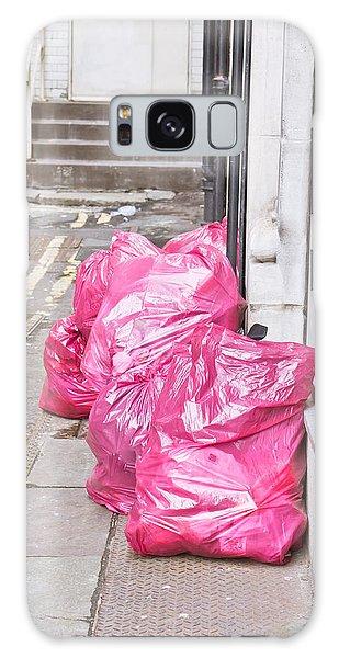 Rubbish Bin Galaxy Case - Litter Bags by Tom Gowanlock