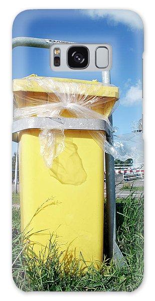 Rubbish Bin Galaxy Case - Litter Bin by Chris Martin-bahr/science Photo Library
