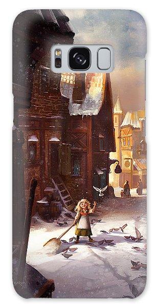 Pigeon Galaxy S8 Case - Little Anna by Kristina Vardazaryan