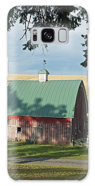 Little Barn On The Palouse Galaxy Case