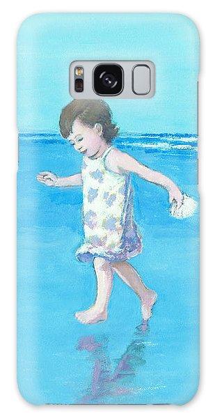 Little Beach Girl Galaxy Case