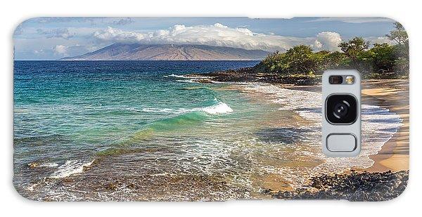 Little Beach Maui Sunrise Galaxy Case