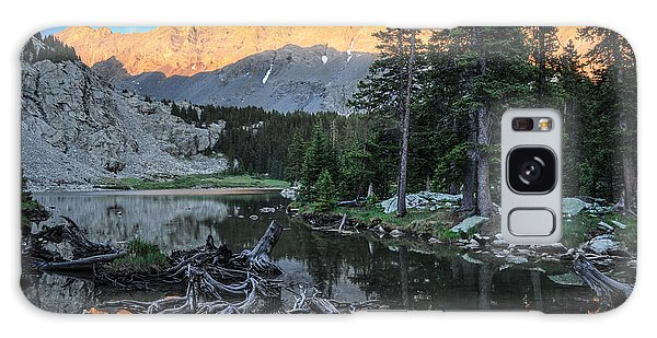 Little Bear Peak And Lake Como Galaxy Case