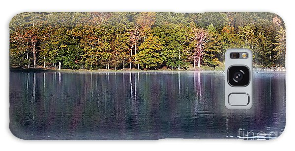 Little Beaver Lake Galaxy Case by Melissa Petrey