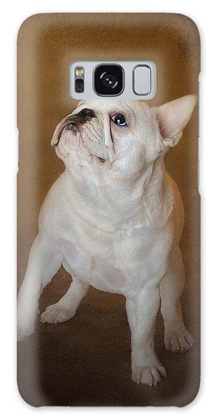 Little Beggar - White French Bulldog Galaxy Case