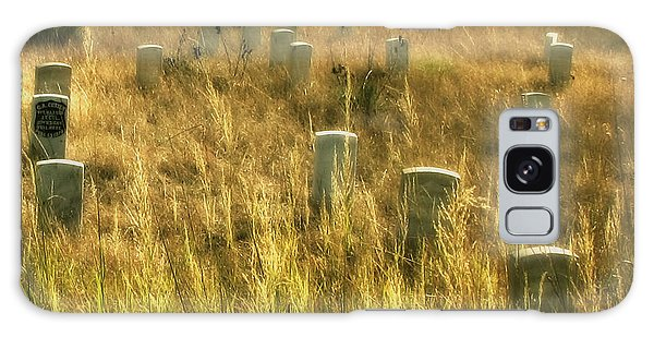 Little Big Horn Gravesite Galaxy Case