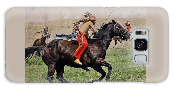 Little Bighorn Reenactment 1 Galaxy Case