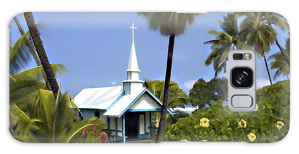 Little Blue Church Kona Galaxy Case