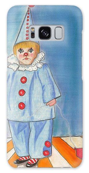 Little Blue Clown Galaxy Case