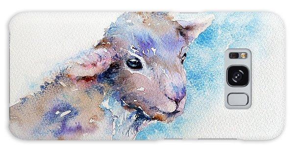 Little Blue Lamb Galaxy Case