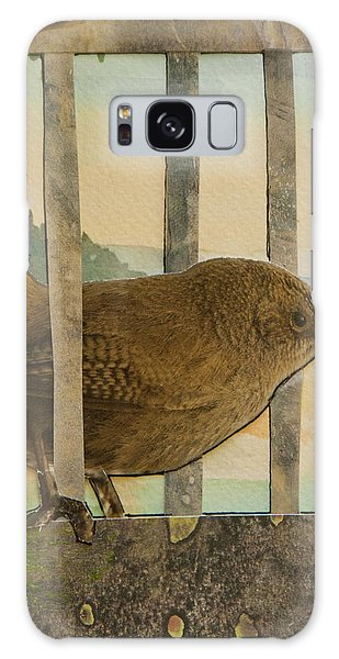 Little Brown Bird Galaxy Case