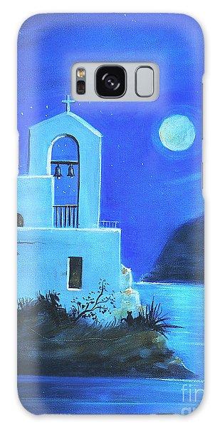 Little Church By The Sea Galaxy Case