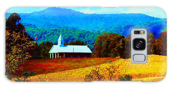 Little Church In The Mountains Of Wv Galaxy Case