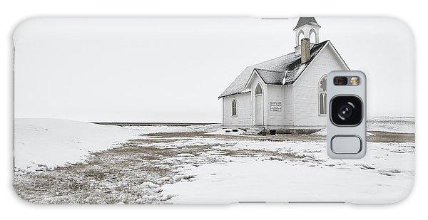 Little Church In The Prairies Galaxy Case