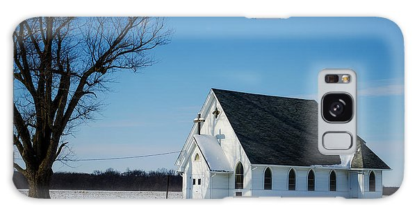 Little Church On The Prairie Galaxy Case