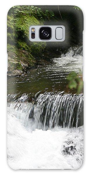 Little Creek Falls Galaxy Case