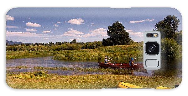Little Deschutes River Bend Sunriver Thousand Trails Galaxy Case