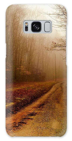 Little Dirt Road Galaxy Case